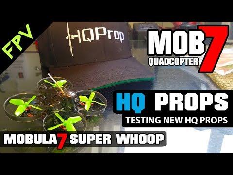 Mobula7 FPV Brushless Whoop - HQ PROP TEST - NZ