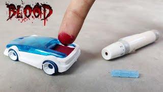 अपने खून से कार चलाया !! World's First Human Blood Powered Car Experiment Gone Shocking - खूनी कार