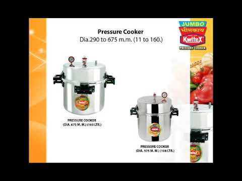 Jumbo Commercial Pressure Cooker 83 Liters