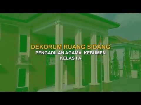 Dekorum Pengadilan Agama Kebumen