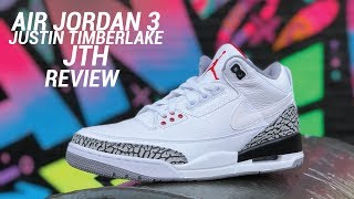 quality design 23ba5 c91ef Air Jordan 3 Jth Tinker Justin Timberlake Review