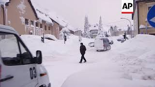 Heavy snow causes transport problems in Croatia and Bosnia