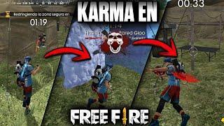 EL KARMA INSTANTÁNEO EN •FREE FIRE• (CLASIFICATORIA 12 KILLS)