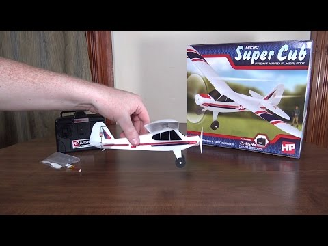 Hobby People – Micro Super Cub – Review and Flight
