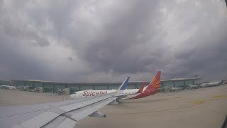 preview picture of video 'Guwahati to Bangaluru || Air Asia || GoPro Hero 5 || A RAINY DAY TAKE-OFF ||'