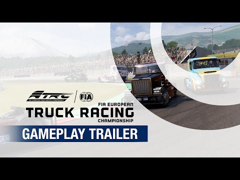 FIA European Truck Racing Championship | Gameplay Trailer thumbnail