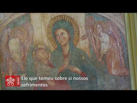 Videomensagem do Papa ao Santuário do Divino Amor, de Roma