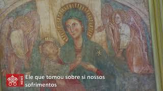 Videomensagem do Papa ao Santuário do Divino Amor, de Roma (1:29)