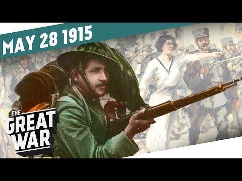 Itálie vstupuje do války - Velká válka