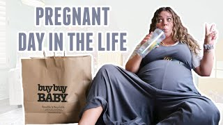 A (very real) Day In My Life at 35 Weeks Pregnant