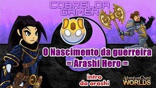 O Nascimento da guerreira = Arashi Hero =