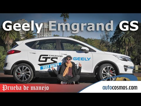 Test Geely GS