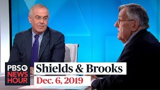 Shields and Brooks on impeachment evidence, Pelosi's powerful moment