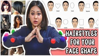 BEST HAIRCUT TO SUIT YOUR FACE SHAPE: Round, Oval, Heart, Square-How To Pick  ThatQuirkyMiss