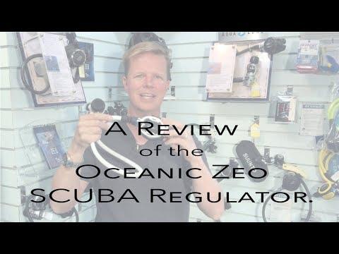 Review of the Oceanic Zeo SCUBA Regulator