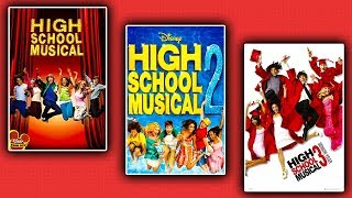 "Watching All 3 ""HIGH SCHOOL MUSICAL"" Movies For First Time!"