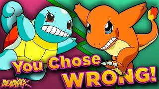 Pokemon: Which Gen 1 Starter is TRULY THE BEST? - DeadLock