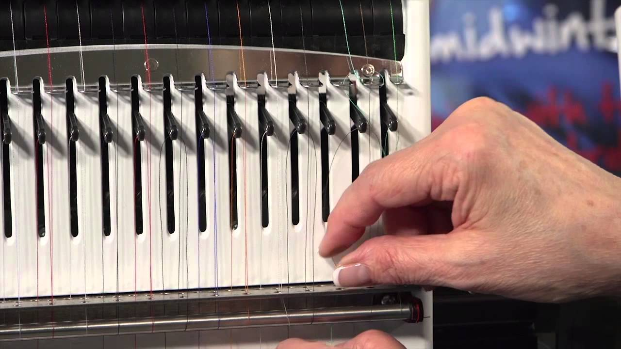 BERNINA E 16 Tutorial: How to manually thread the BERNINA E 16