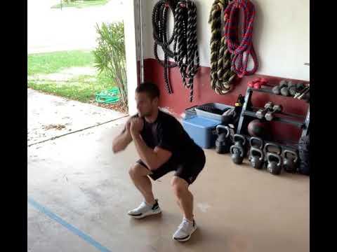 Bodyweight Squat to Calf Raise