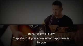 Boyce Avenue - Happy (Cover, Pharrell Williams) [HQ Lyrics]