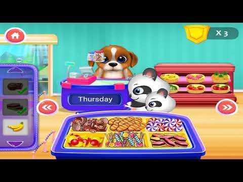 Game Anak | Panda's Supermarket Shopping Fun Gameimake | Fun Kids Game
