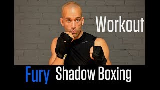 FURY Shadow Boxing Workout | Advanced Combinations by NateBowerFitness
