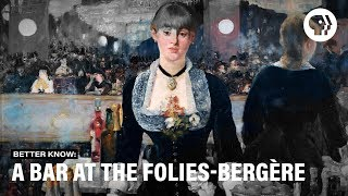 Where is a bar at the folies bergere