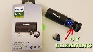 Philips Self Cleaning Wireless Headphones - ST702BK