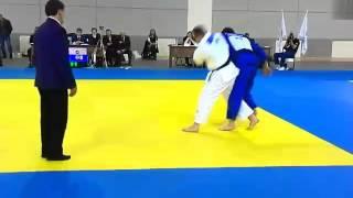 Финальная схватка чемпионата России по Дзюдо в г. Новосибирск.
