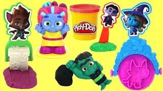 Netflix SUPER MONSTERS Play-doh Tools with Drac, Zoe, Cleo, Katya & Frankie