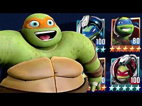 Ninja Turtles Legends PVP HD Episode - 530 #TMNT