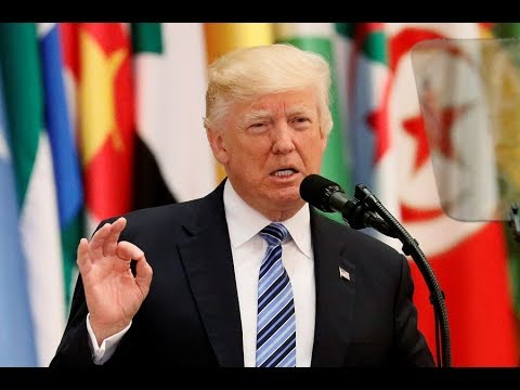President Trump delivers speech at Arab and Muslim leaders' summit