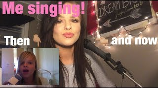 ME SINGING! THEN AND NOW! - MILEY CYRUS: WHEN I LOOK AT YOU - COVER