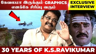 """MUTHU-ல அப்பா CHARACTER-க்கு பேரே இல்ல தெரியுமா?"" - K.S. Ravikumar Opens Up For The First Time"