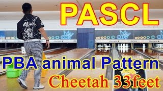 PASCL PBA Animal Pattern Cheetah 【ボウリング】 2018/09/28
