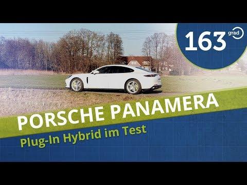 Porsche Panamera 4 E-Hybrid Test - 163 Grad testet den Porsche Plugin Hybrid Panamera - Reichweite