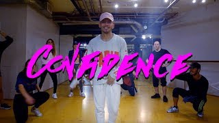 Confidence - Chris Brown | @alvin_de_castro choreography | Dance Class