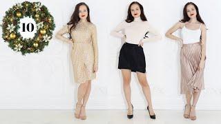 VLOGMAS 10 | Tipy na štědrovečerní outfity