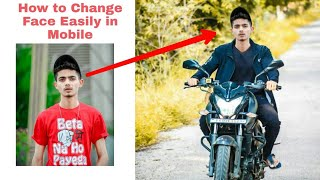 How to change face in Picsart | Photo editing tutorial | Picsart face change ||