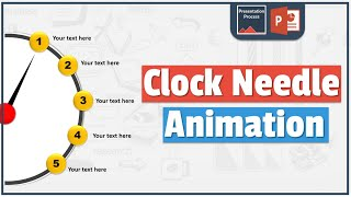 How to Create Clock Needle Animation Effect in PowerPoint