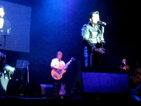 Elvis (George Elias) in Concert in Cuijk