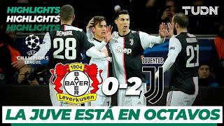 Highlights   Bayern Leverkusen 0 - 2 Juventus   Champions League - J 6 - Grupo D   TUDN