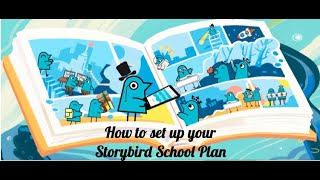 How to create a class and add students or teachers with a Storybird Class/School Plan