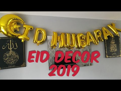 Eid Decoration Ideas