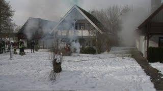 preview picture of video 'Übung: Meteoritenregen in Frielendorf am Silbersee - Katastrophenschutzübung 16.03.2013'
