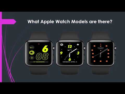 Shylesh Sriranjan | Apple Watch Features and Comparison
