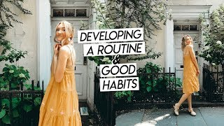 20 things I do every day | how I create a routine and stick to my habits