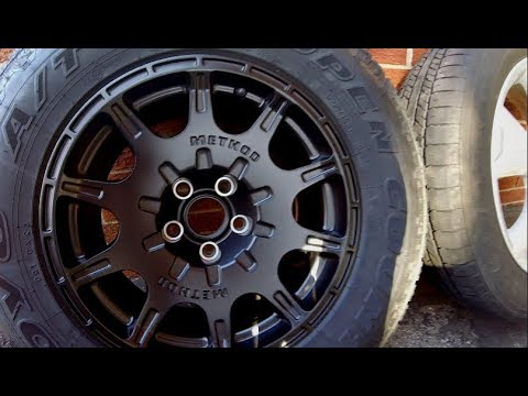2015 Forester | All-Terrain Wheels vs Stock weight comparison