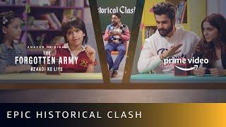 Epic Historical Clash | Kids Vs. The Forgotten Army | Sunny Kaushal, Sharvari