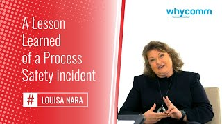 A Lesson Learned of a Process Safety incident (5 of 19)